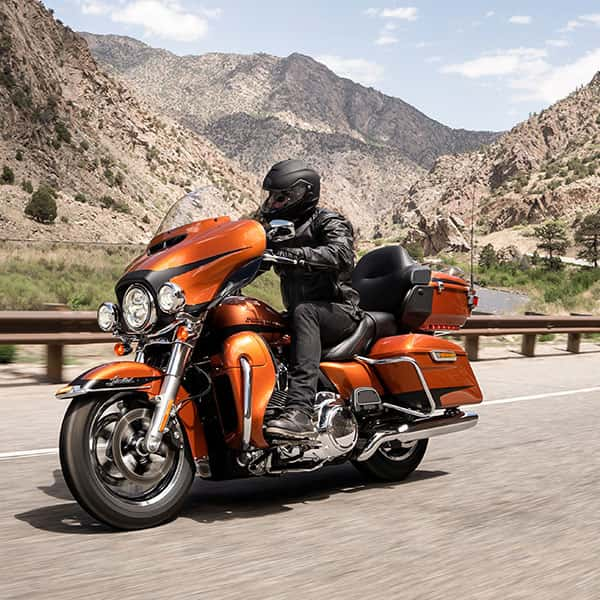 Be free with the 2019 Harley-Davidson Touring Range